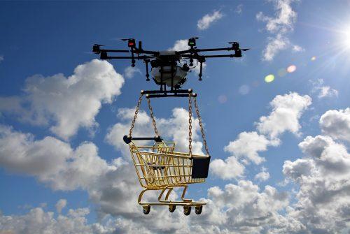 Consegna droni