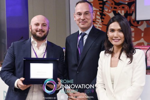 A prize for Impactscool at the Rome Innovation Summit