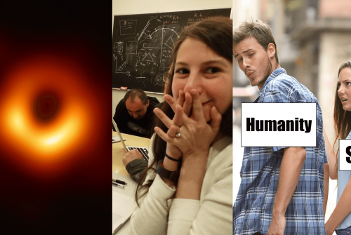 On black holes, women scientists and memes
