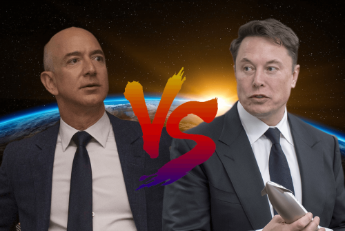 Musk vs Bezos: two visions for a single goal