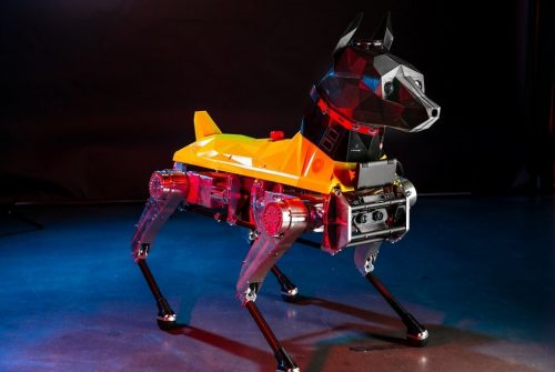 Astro: the four-legged friend … robot