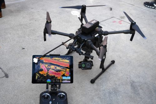 US-TECHNOLOGY-AEROSPACE-RESCUE-FIRE-POLICE-DRONES