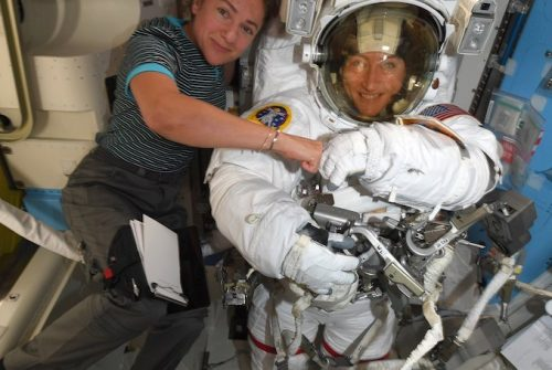 The future of space exploration is (also) female