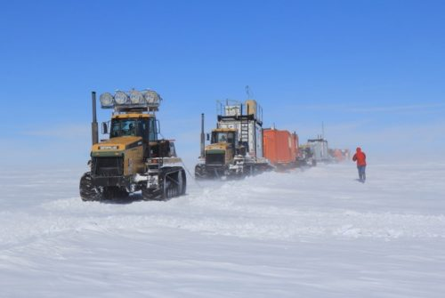 Crossing the South Pole to estimate sea level rise