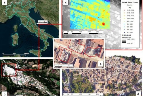 Earthquake: satellites, sensors and algorithms for post-earthquake reconstruction